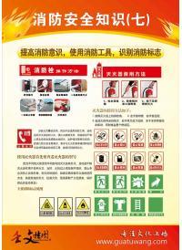 消防安全宣传知识大全   消防安全知识七